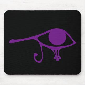 Royal Purple Eye of Horus Mouse Pad