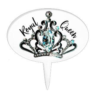 """Royal Queen"" Cake Topper"