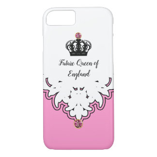 Royal Queen Monarchy Crown Jewel iPhone 8/7 Case