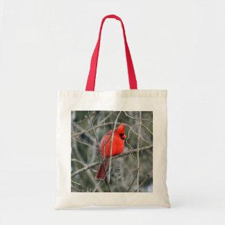 Royal Red Cardinal Tote Bag