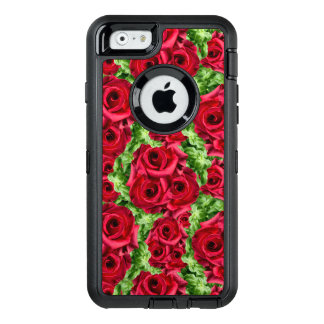 Royal Red Roses Regal Romance Crimson Lush Flowers OtterBox iPhone 6/6s Case
