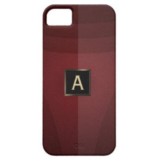 Royal Red Steel Iron Armor iPhone 5 Case