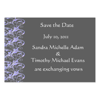 Royal Romance Mini Save The Date Cards Business Card Template