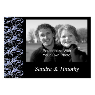 Royal Romance Mini Save The Date Wedding Cards Business Card Template