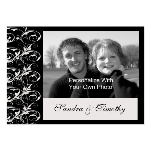 Royal Romance Mini Save The Date Wedding Cards Business Card