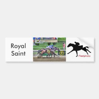 Royal Saint & Great Stuff Bumper Sticker