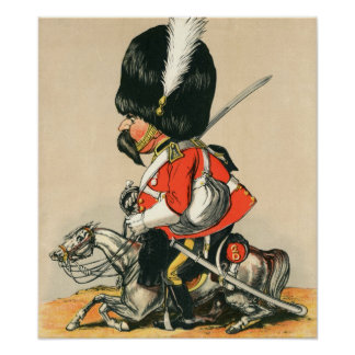 Royal Scots Greys Soldier Posters