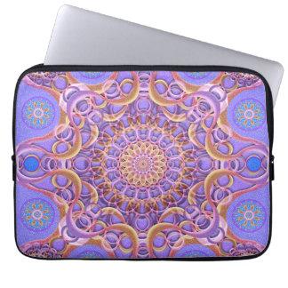 Royal Seal Mandala Laptop Sleeves