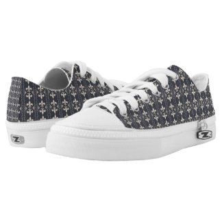 royal seamless pattern low tops