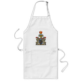 Royal Shield, William and Kate, Optional Text Apron