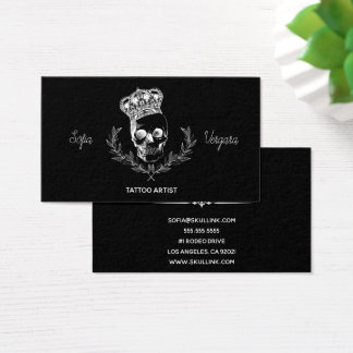 Royal Skull Business Card