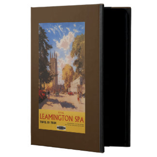 Royal Spa, Street View British Railways Poster Cover For iPad Air