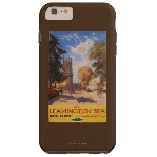 Royal Spa, Street View British Railways Poster Tough iPhone 6 Plus Case
