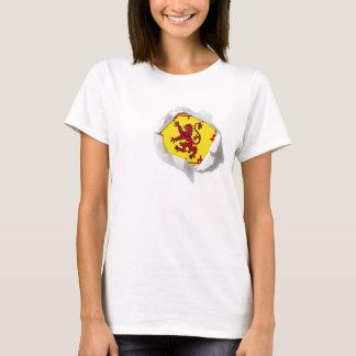 Royal Standard of Scotland Lion RampantTrue Colors T-Shirt
