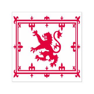 Royal Standard of Scotland Red Lion Scottish Flag Self-inking Stamp