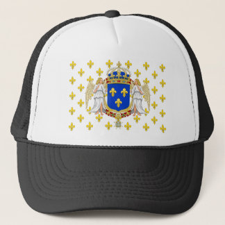 Royal Standard Of The Kingdom Of France, France Trucker Hat