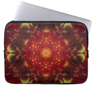 Royal Star Crest Mandala Laptop Computer Sleeve