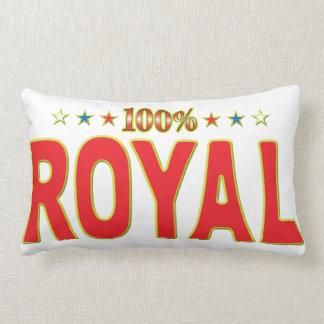 Royal Star Tag Lumbar Cushion