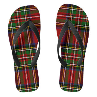 Royal Stewart Adult Flip Flops
