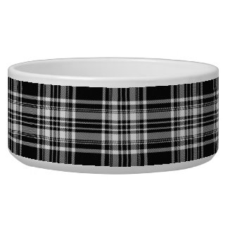 Royal Stewart Black And White Tartan