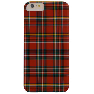 Royal Stewart Classic Red Scottish Tartan Barely There iPhone 6 Plus Case