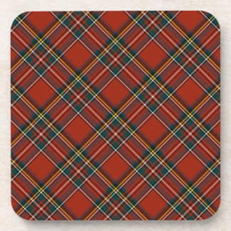 Royal Stewart Classic Red Scottish Tartan Coaster