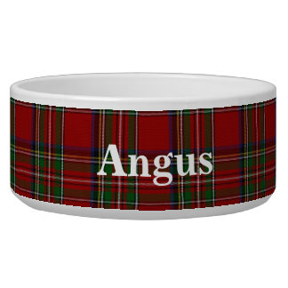 Royal Stewart Custom Tartan Plaid Pet Bowl
