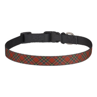 Royal Stewart Family Red, Blue, and Green Tartan Pet Collar