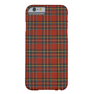 Royal Stewart Red and Blue Classic Tartan Barely There iPhone 6 Case