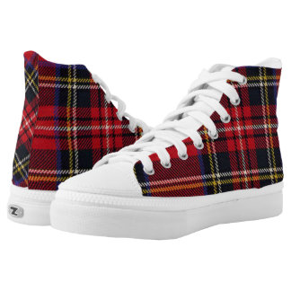 Royal Stewart Scottish Tartan High-Top