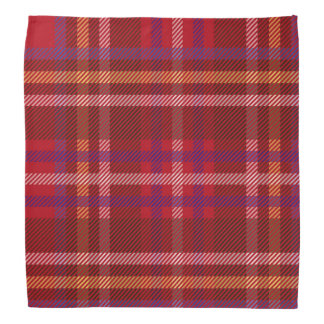 Royal Stewart Tartan Christmas Pattern Bandana