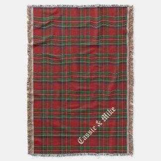 Royal Stewart Tartan Plaid Custom Throw Blanket