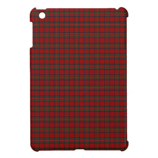 Royal Stewart Tartan Plaid Pattern in Red iPad Mini Case