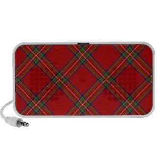 Royal Stewart Tartan Portable Speaker