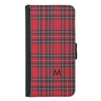 Royal Stewart Tartan Samsung Galaxy S5 Wallet Case