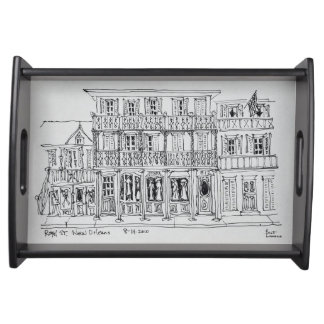 Royal Street, French Quarter | New Orleans Serving Tray