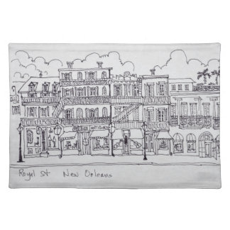 Royal Street | New Orleans, Louisiana Placemat