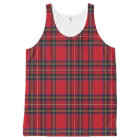 Royal Stuart Tartan Plaid Pattern Tank Top