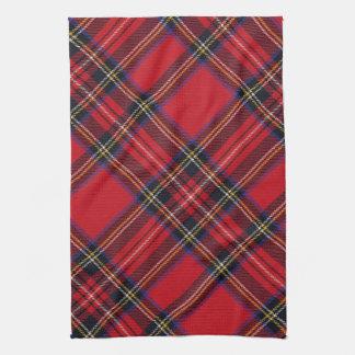 Royal Stuart Tartan Tea Towel