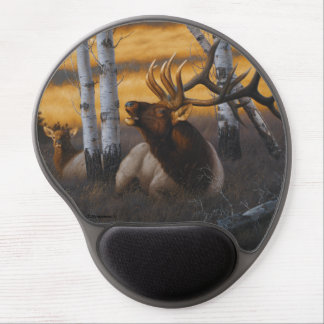 """Royal Summons"" Elk Mouse Pad"