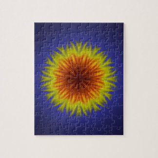 Royal Sun Flower Jigsaw Puzzle