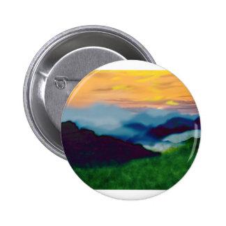 Royal Sunset 6 Cm Round Badge