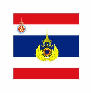 Royal Thai Army Unit Colour, Thailand flag Standing Photo Sculpture