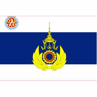 Royal Thai Army Unit Colour, Thailand flag Acrylic Cut Out