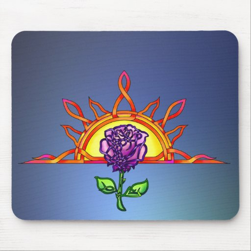 Royal Tudor's Sunrise Mousepad