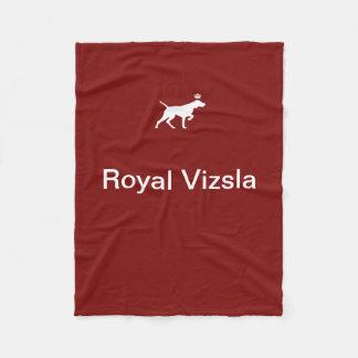 Royal Vizsla fleece small