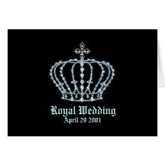 "Royal Wedding 5.6"" x 4"" Card"