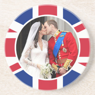 Royal Wedding Beverage Coasters