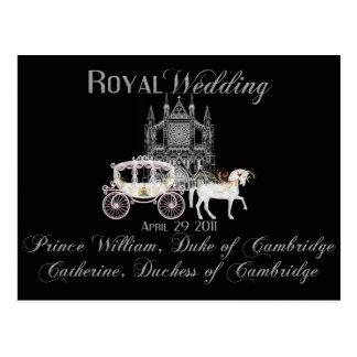 Royal Wedding Collectible Postcard