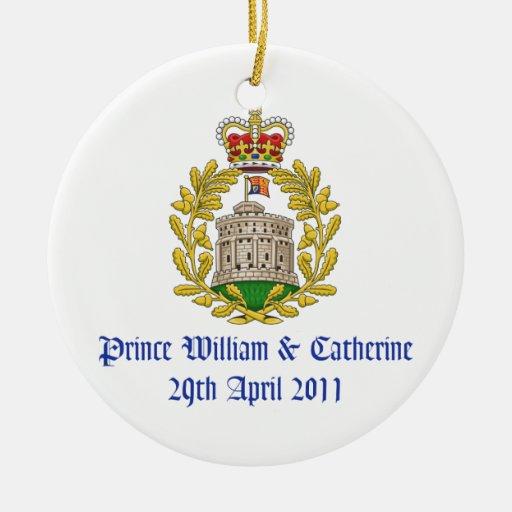 Royal Wedding Christmas Tree Ornament